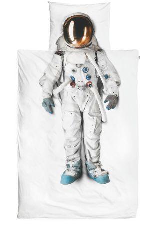 Snurk Perkal Bettwäsche Astronaut