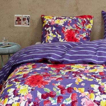 Vanezza Bettwäsche Splash Purple Flanell – Bild 3