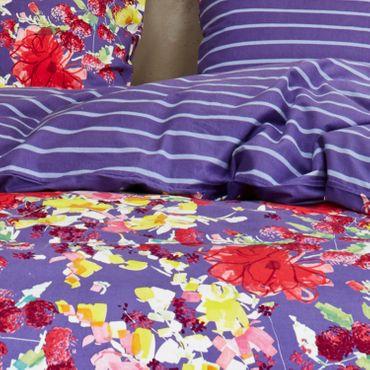 Vanezza Bettwäsche Splash Purple Flanell – Bild 4