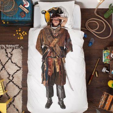 Snurk Perkal Bettwäsche Pirat – Bild 3