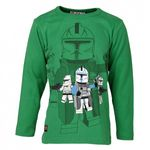 LEGO Wear Jungen Langarmshirt LEGO Star Wars THOR 757 in Grün (870 GREEN) 001