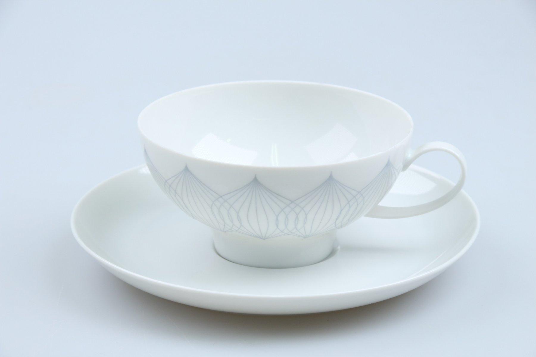 Stövchen für Kaffeekanne D 12,9 cm H 5,1 cm Rosenthal Lotus Kobalt blau