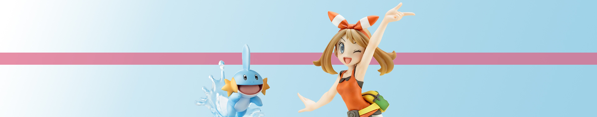 Pokémon: Advanced Generation ARTFX J Figure Series 1/8 Statue: Maike & Hydropi