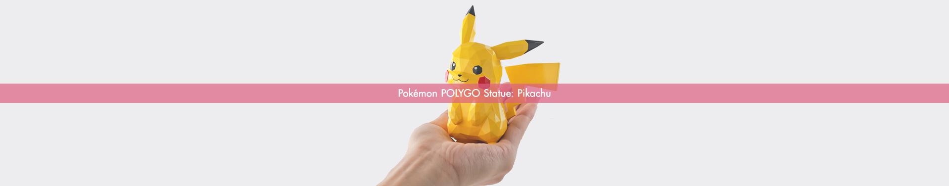 Pokémon POLYGO Statue: Pikachu