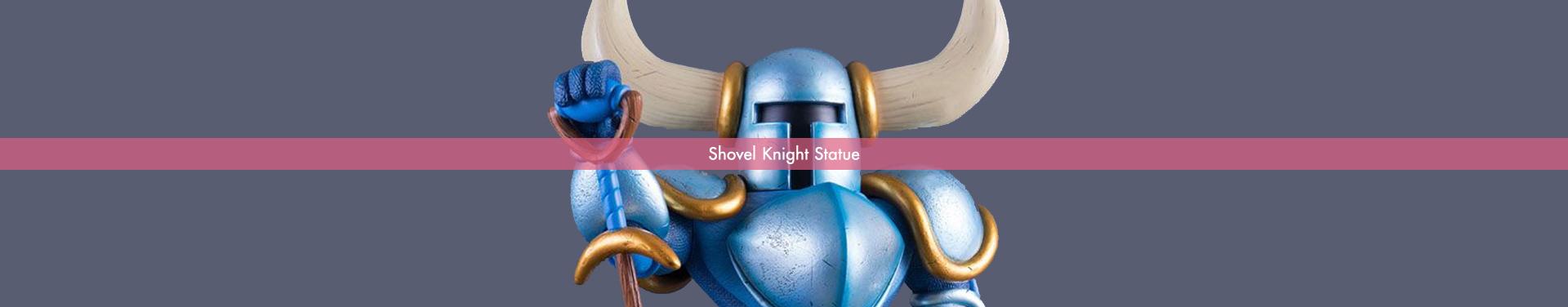 Shovel Knight Statue: Shovel Knight