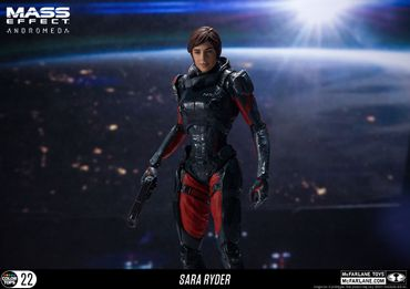 Mass Effect: Andromeda Color Tops #22 Figur: Sara Ryder
