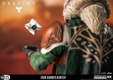 Destiny: König der Besessenen Color Tops #25 Action-Figur: Jäger [Eisenbanner] – Bild 6