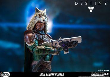 Destiny: König der Besessenen Color Tops #25 Action-Figur: Jäger [Eisenbanner] – Bild 8