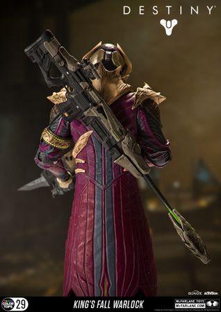 Destiny: König der Besessenen Color Tops #29 Action-Figur: Warlock [Königsfall] – Bild 3