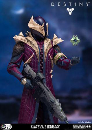 Destiny: König der Besessenen Color Tops #29 Action-Figur: Warlock [Königsfall] – Bild 9