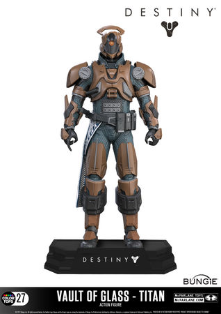 Destiny Color Tops #27 Action-Figur: Warlock [Gläserne Kammer] – Bild 2