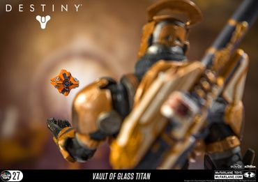 Destiny Color Tops #27 Action-Figur: Warlock [Gläserne Kammer] – Bild 6