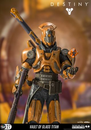 Destiny Color Tops #27 Action-Figur: Warlock [Gläserne Kammer] – Bild 7