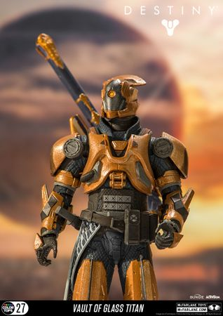 Destiny Color Tops #27 Action-Figur: Warlock [Gläserne Kammer] – Bild 9