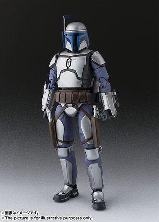 Star Wars: Episode II – Angriff der Klonkrieger S.H.Figuarts Figur: Jango Fett – Bild 1