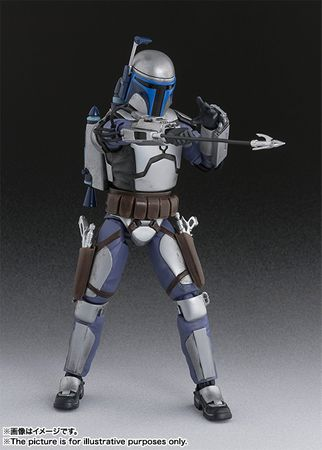 Star Wars: Episode II – Angriff der Klonkrieger S.H.Figuarts Figur: Jango Fett – Bild 7