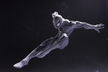 Marvel Cinematic Universum Spider-Man: Homecoming CREATOR×CREATOR Statue: Spider-Man [Monochrome Version] – Bild 2