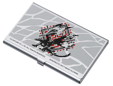 Monster Hunter Generations Ultimate Ichiban Kuji D Preis Visitenkartenetui Valstrax Kujumi