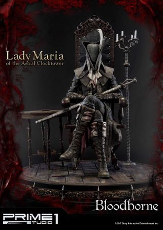 Bloodborne: The Old Hunters Ultimate Premium Masterline 1/4 Statue: Fürstin Maria des Astralen Uhrturms