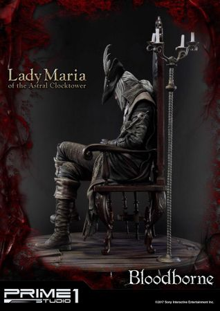 Bloodborne: The Old Hunters Ultimate Premium Masterline 1/4 Statue: Fürstin Maria des Astralen Uhrturms – Bild 2