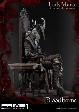 Bloodborne: The Old Hunters Ultimate Premium Masterline 1/4 Statue: Fürstin Maria des Astralen Uhrturms – Bild 4
