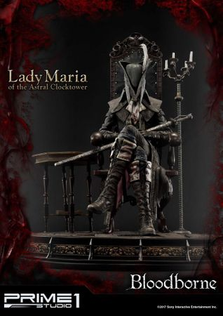 Bloodborne: The Old Hunters Ultimate Premium Masterline 1/4 Statue: Fürstin Maria des Astralen Uhrturms – Bild 6