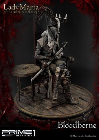 Bloodborne: The Old Hunters Ultimate Premium Masterline 1/4 Statue: Fürstin Maria des Astralen Uhrturms – Bild 7