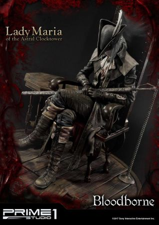 Bloodborne: The Old Hunters Ultimate Premium Masterline 1/4 Statue: Fürstin Maria des Astralen Uhrturms – Bild 9