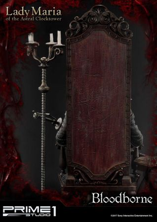 Bloodborne: The Old Hunters Ultimate Premium Masterline 1/4 Statue: Fürstin Maria des Astralen Uhrturms – Bild 10