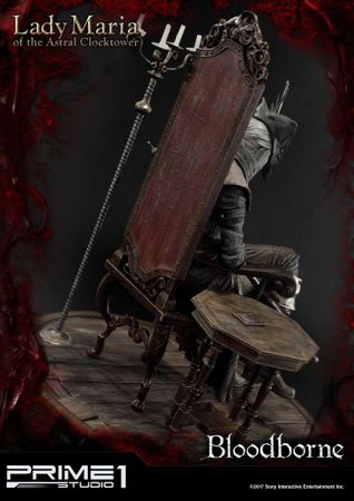 Bloodborne: The Old Hunters Ultimate Premium Masterline 1/4 Statue: Fürstin Maria des Astralen Uhrturms – Bild 11