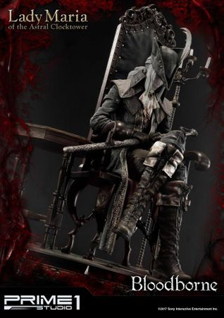 Bloodborne: The Old Hunters Ultimate Premium Masterline 1/4 Statue: Fürstin Maria des Astralen Uhrturms – Bild 12