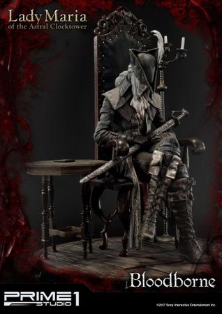 Bloodborne: The Old Hunters Ultimate Premium Masterline 1/4 Statue: Fürstin Maria des Astralen Uhrturms [Exklusive Version] – Bild 8