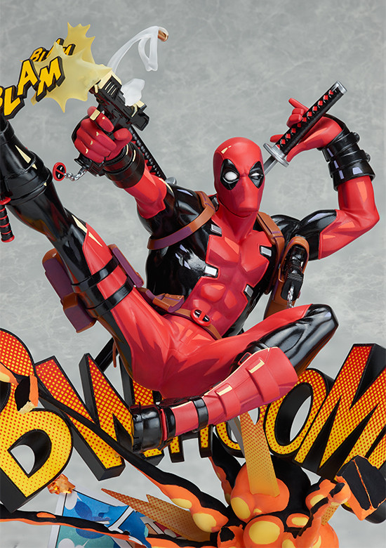 Good Smile Company Deadpool Breaking the Fourth Wall Action Figure Statue Toy US