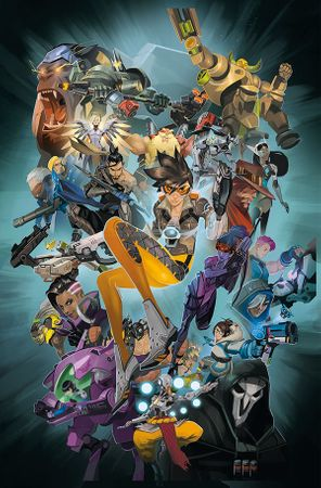 Overwatch Comic: The Anthology Volume 1 [Hardcover]