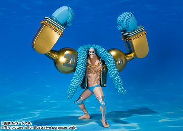 One Piece FiguartsZERO Statue: Franky [20th Anniversary Version] – Bild 1