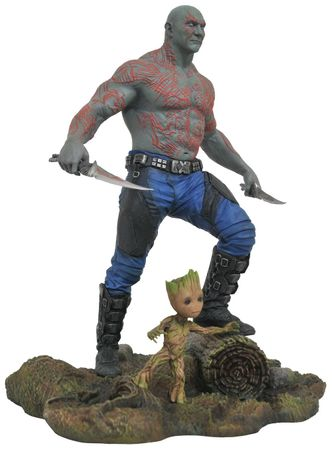 Guardians of the Galaxy Vol. 2 Marvel Gallery PVC Diorama Statue: Drax und Baby Groot