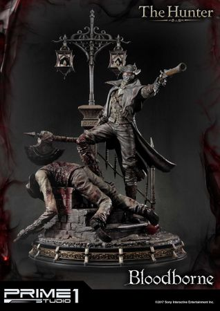 Bloodborne: The Old Hunters Ultimate Premium Masterline 1/4 Statue: Der Jäger – Bild 2