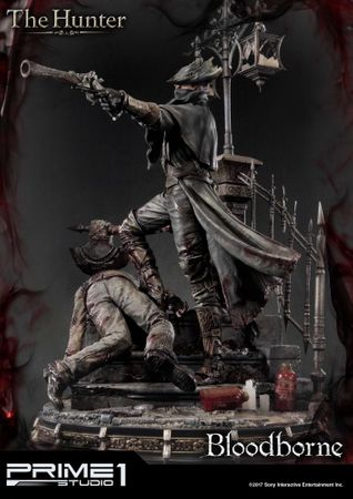 Bloodborne: The Old Hunters Ultimate Premium Masterline 1/4 Statue: Der Jäger – Bild 4