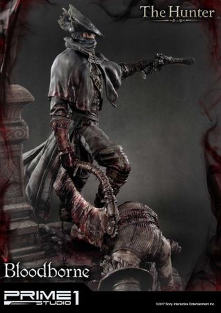 Bloodborne: The Old Hunters Ultimate Premium Masterline 1/4 Statue: Der Jäger – Bild 13