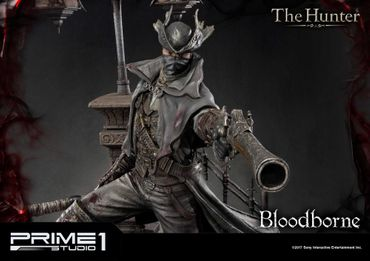 Bloodborne: The Old Hunters Ultimate Premium Masterline 1/4 Statue: Der Jäger – Bild 14