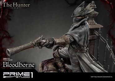 Bloodborne: The Old Hunters Ultimate Premium Masterline 1/4 Statue: Der Jäger – Bild 16