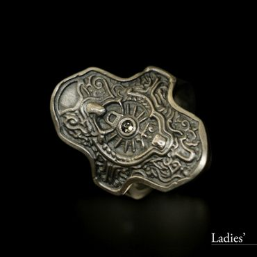 DARK SOULS × TORCH TORCH Rings Collection: Hartstahlring – Bild 7