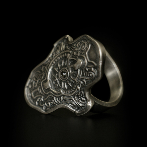 DARK SOULS × TORCH TORCH Rings Collection: Hartstahlring