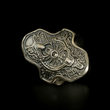 DARK SOULS × TORCH TORCH Rings Collection: Hartstahlring – Bild 1