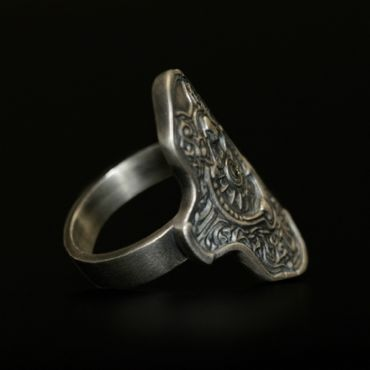 DARK SOULS × TORCH TORCH Rings Collection: Hartstahlring – Bild 2