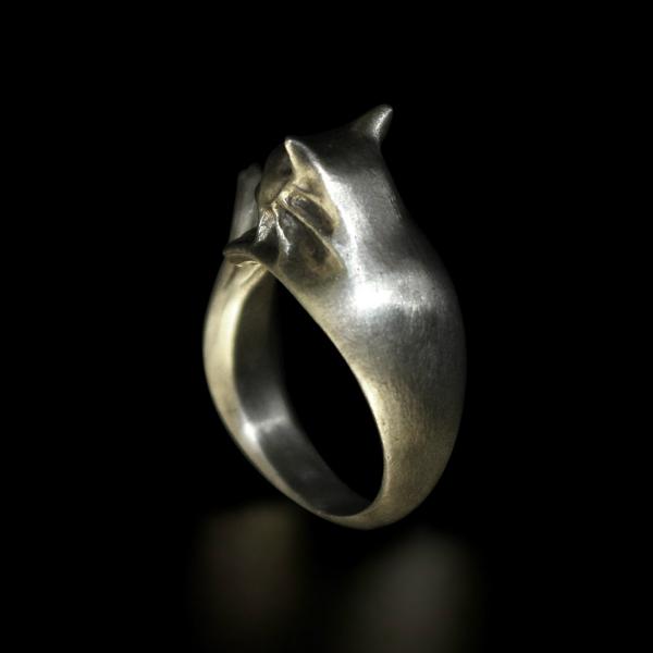 DARK SOULS × TORCH TORCH Rings Collection: Silberkatzenring