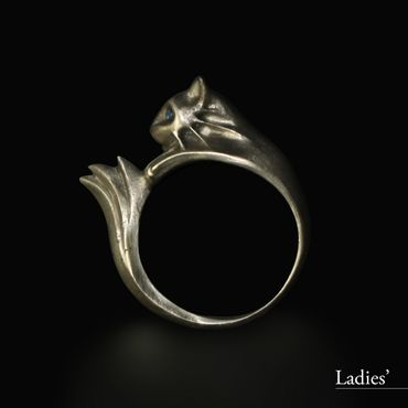 DARK SOULS × TORCH TORCH Rings Collection: Silberkatzenring – Bild 7