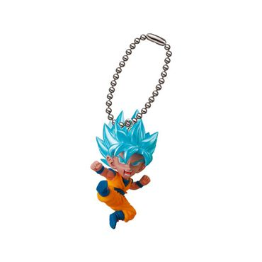 Dragon Ball Super Ultimate Deformed Mascot [UDM] Burst 25 Anhänger: #1 Super Saiyajin Blue Son Goku