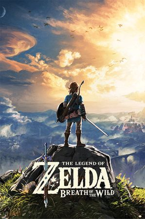 The Legend of Zelda: Breath of the Wild Poster: Spiele-Cover