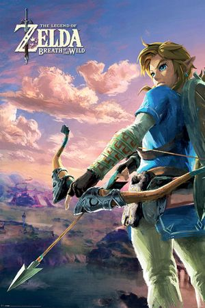 The Legend of Zelda: Breath of the Wild Poster: Hyrule Steppe